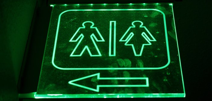 Gender Bathroom Signs