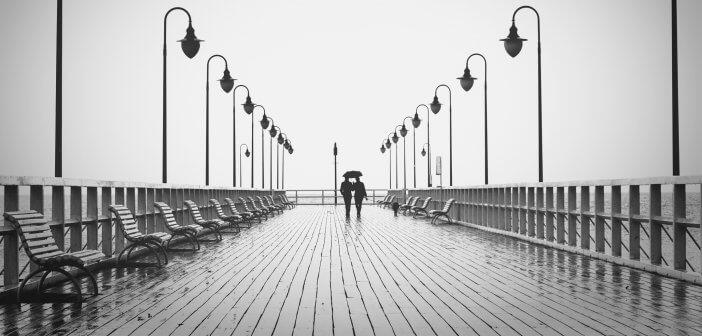 Couple on Boardwalk