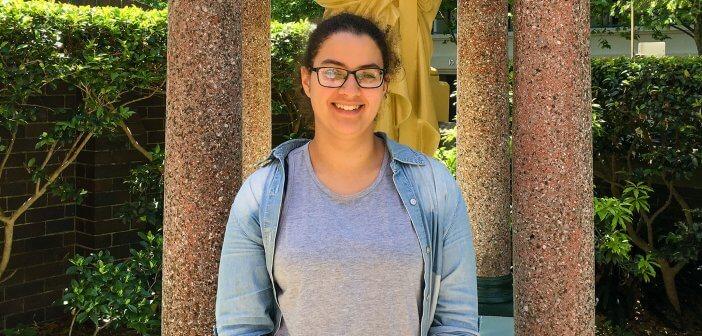 Chloe Mason at Mary MacKillop Place