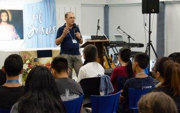 Paul Elarde at the Immaculata Mission School 2018