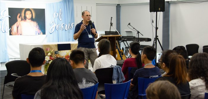Paul Elarde at the Immaculata Mission School 2018