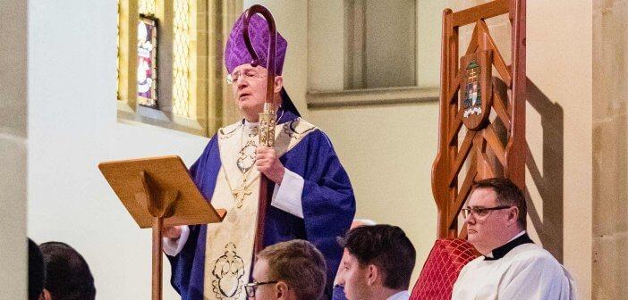 Archbishop Julian Porteous in Lent