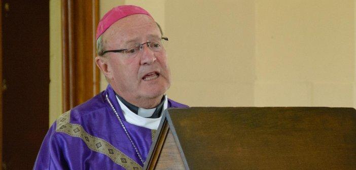 Archbishop Julian Porteous at St Patrick's, Colebrook