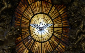 Holy Spirit Window, St Peter's Basillica