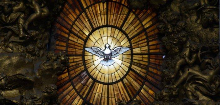 Holy Spirit Window, St Peter's Basillica