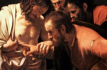 The Incredulity of St Thomas by Caravaggio
