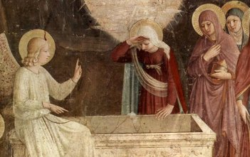 Three Marys at the Tomb by Fra Angelico