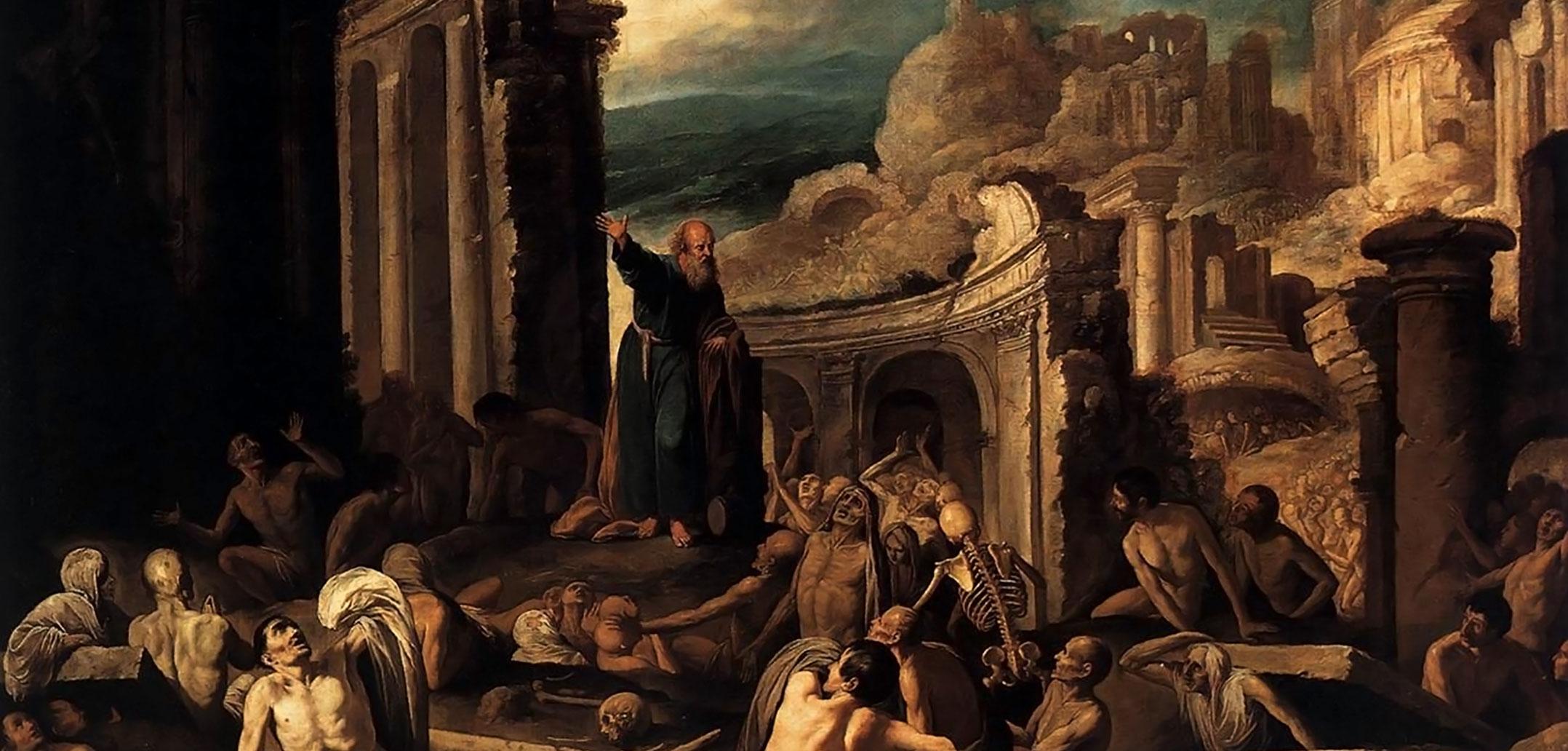 Ezekiel Prophesying to Dry Bones