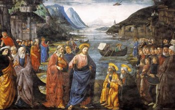 Vocation of the Apostles by Domenico Ghirlandaio and workshop