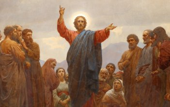 The Sermon on the Mount by Henrik Olrik