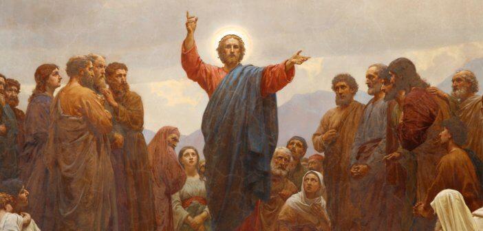 The Sermon on the Mount by Henrik Olrik
